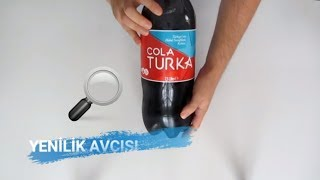 Helal Sertifikalı Kola Cola Turka İncelemesi   🔍 Resimi