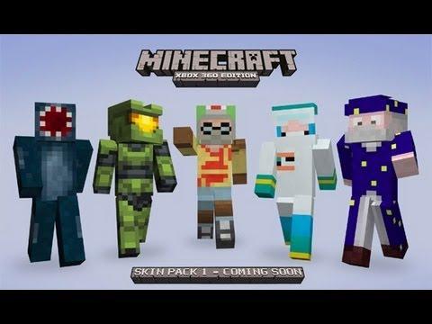 Xbox 360 Minecraft Default Skins Minecraft Xbox 360: Sk...