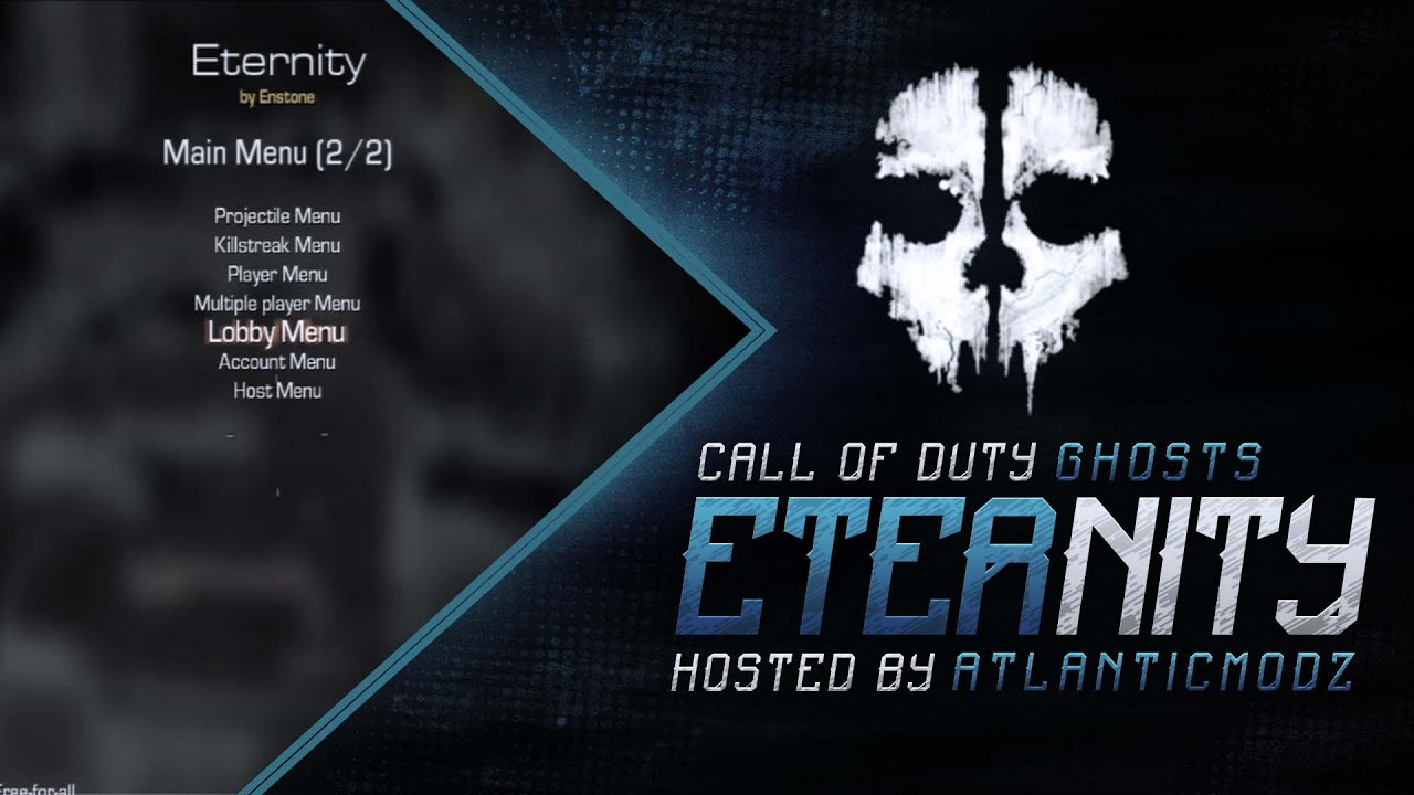 Call Of Duty Ghosts Eternity Mod Menu 116 YouTube