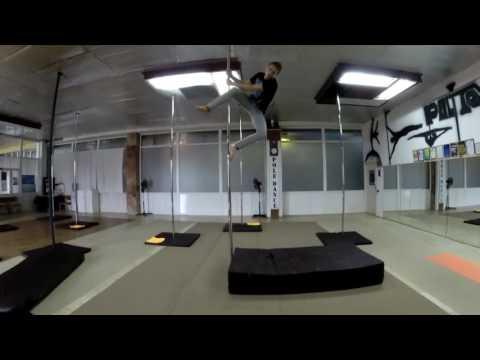 Pole Dance Tutorial - Pole Flip (Frog Flip)
