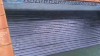 Cubierta automática piscina en policarbonato solar Vizcaya. Climatización de piscina