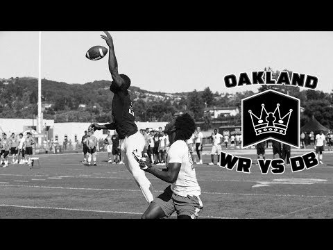 Nike Football's The Opening Oakland 2017 | WR vs DB