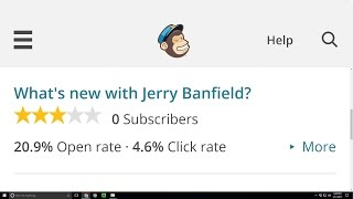 Why I Deleted My MailChimp Email List with 6,195 Subscribers!