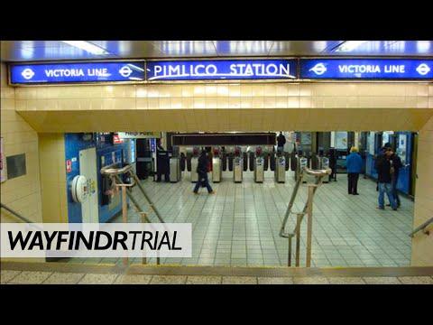 Pimlico Tube Wayfindr Trial