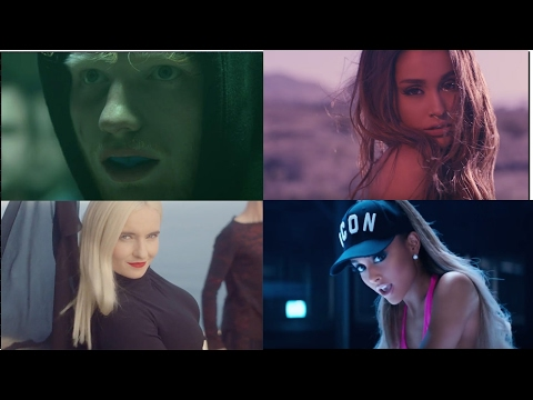 Best Of Popular Songs (The Megamix)2017 -Shape Of You, Rockabye ,Side To Side,Closer ,İnto You