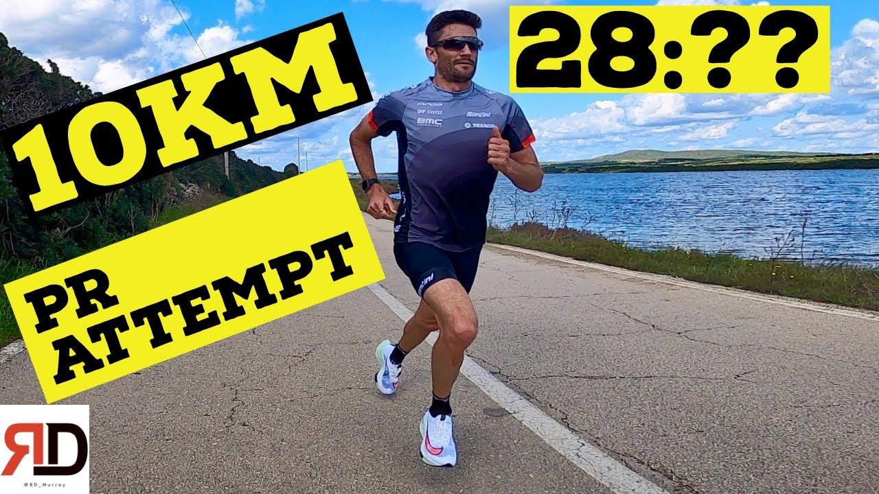 My 10 KM PR Attempt - Rd Murray