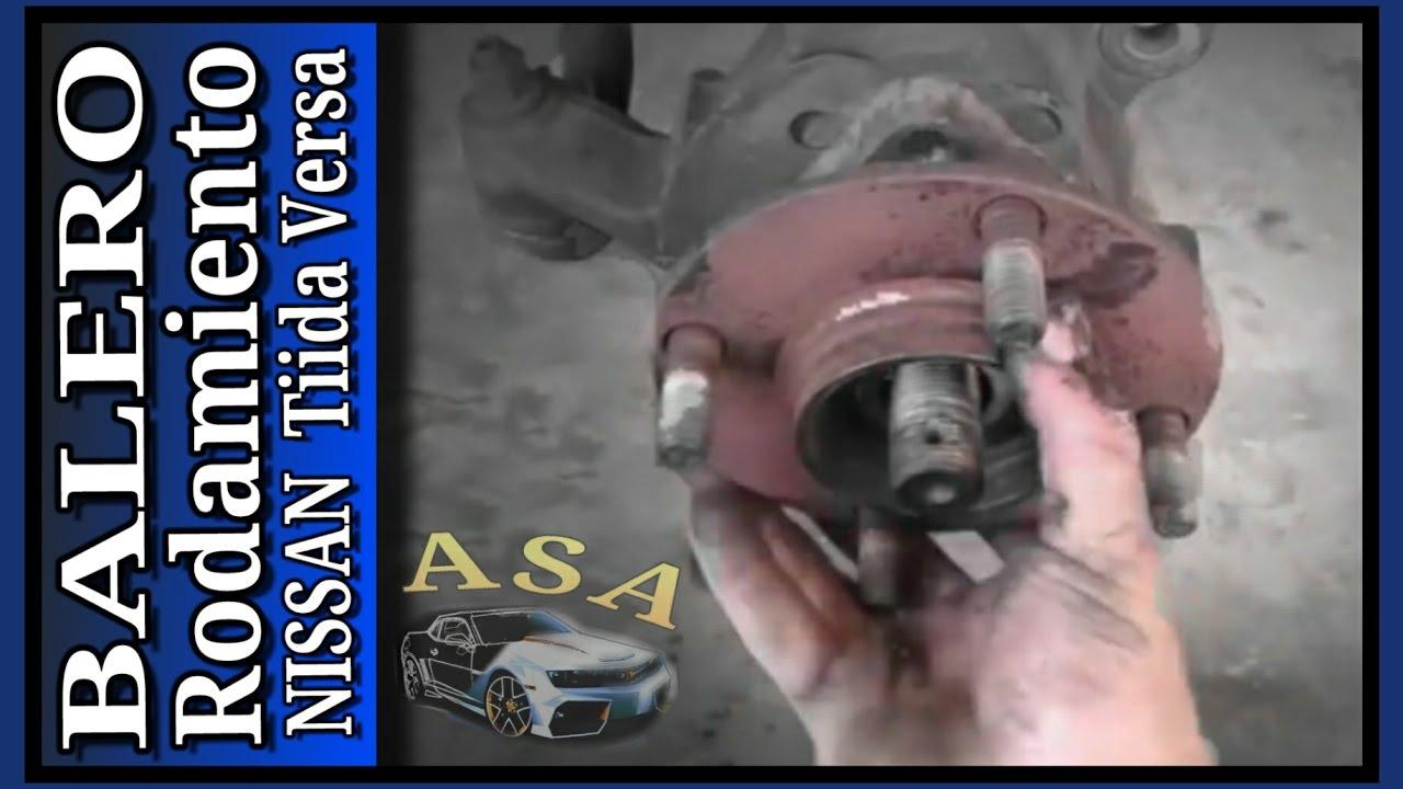 Balero Delantero Nissan Tiida, Versa - YouTube