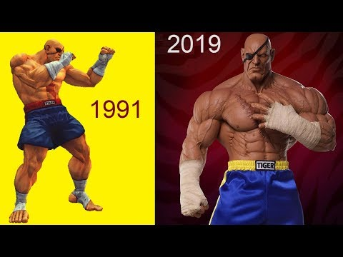 Evolution of ADON (Street Fighter) 1987 to 2019 - YouTube