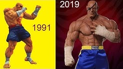 Evolution of SAGAT (Street Fighter)  1991 to 2019