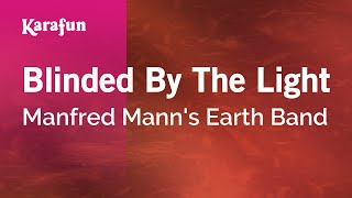 Karaoke Blinded By The Light - Manfred Mann's Earth Band * Mp3