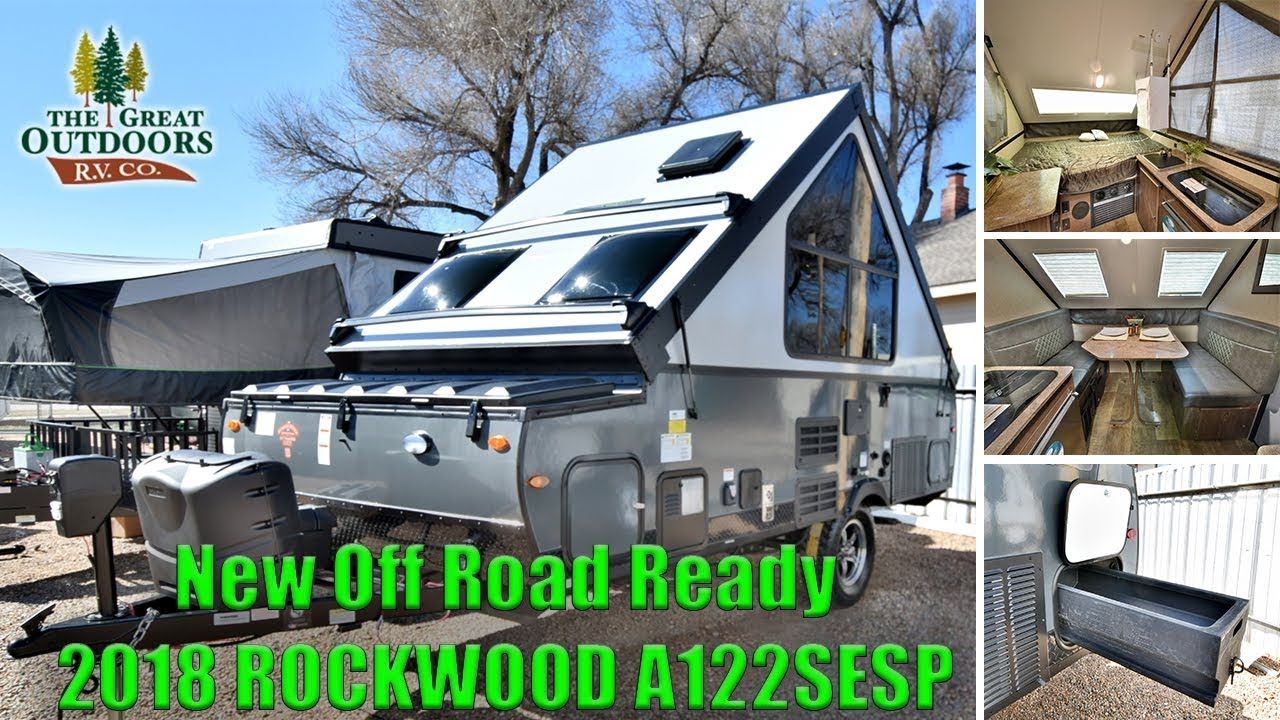 new off road package 2018 rockwood a122sesp hard sided pop up a