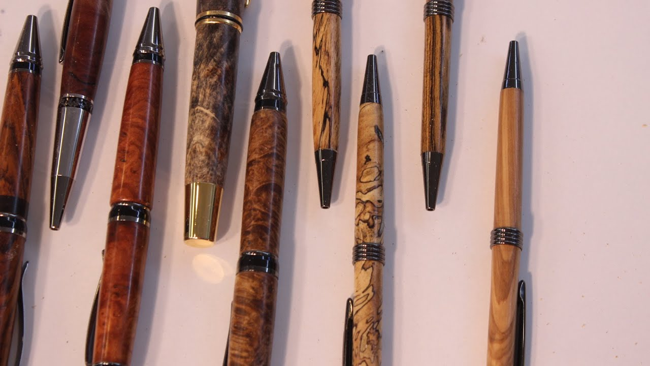 Pen Turning With The Robert Sorby Micro Gouge Youtube