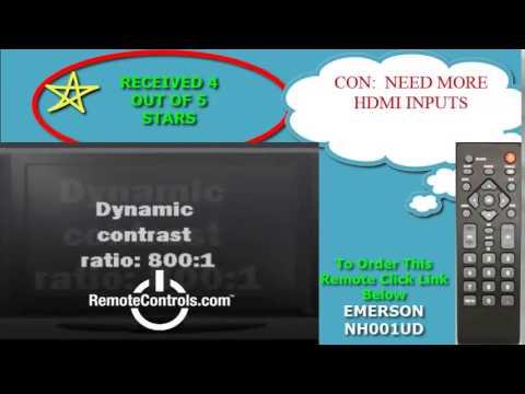 EMERSON-SYLVANIA NH001UD Remote Control - RemoteControls com
