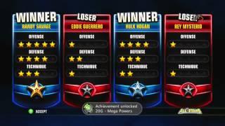 "WWE All Stars Path Of Champions ""DX"" Walkthrough Part 1 - Mega Powers Reunion"