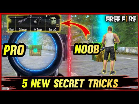 TOP 5 SECRET TIPS AND TRICKS IN FREE FIRE (PART-3)