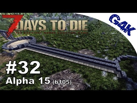 7 Days To Die | Walls, Traps and Loot | 7 Days to Die Gameplay Alpha 15 | S09E32