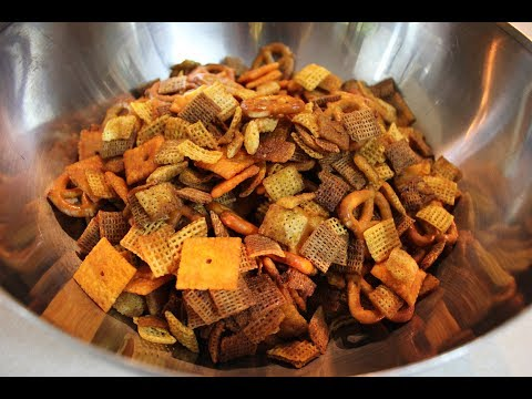 Chex Mix Recipe: How To Make Chex Mix (Trail Mix) | DIY Snacks