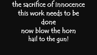 The Gunslinger - Demons and Wizards Lyrics