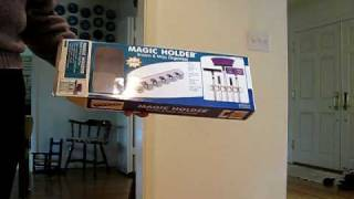 Magic Holder Broom & Mop Organizer