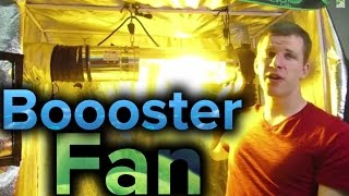How To Booster Fan Setup For Grow Light Systems