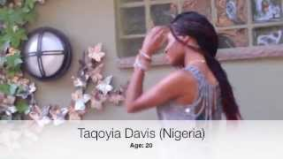 Taqoyia Davis for MISS AFRICA NEW JERSEY 2013 (Nigeria)