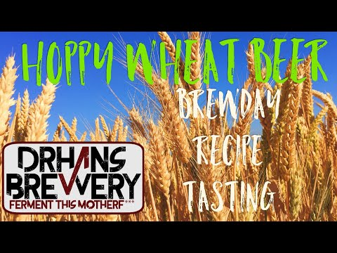 From grain to glass - Hoppy Wheat Beer