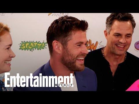 Thor Ragnarok: Chris Hemsworth, Cate Blanchett & Cast On The Film | SDCC 2017 | Entertainment Weekly