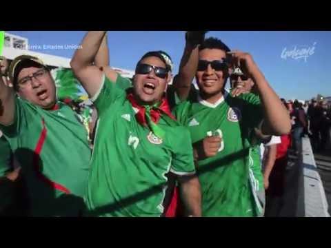 Copa América: México 0-7 Chile. Hinchas mexicanos luego del 7 a 0 en el Levi´s Stadium.