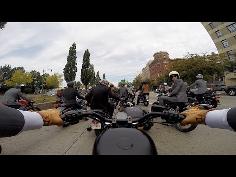 The Distinguished Gentleman's Ride on my Iron 883 - Right Thing Motos - 9.27.15