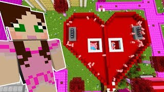 Minecraft: ARE YOU SMARTER THAN A MUFFIN GAME - VALENTINE PARK - Custom Map [2]