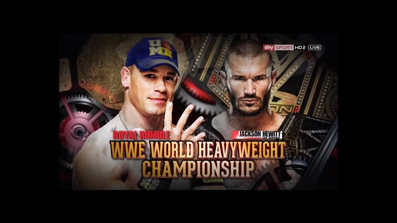 WWE Royal Rumble 2014: John Cena Vs Randy Orton (WWE World ...  WWE Royal Rumbl...