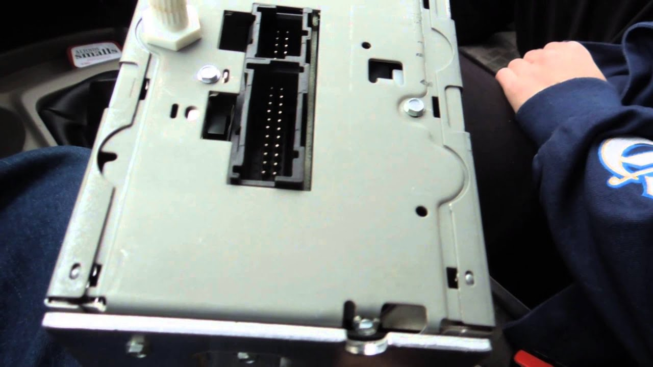 maxresdefault how to install a head unit stereo deck in chevy colorado 2008 youtube