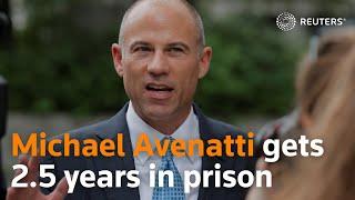 Michael Avenatti gets 2-1/2 years in prison in Nike extortion case