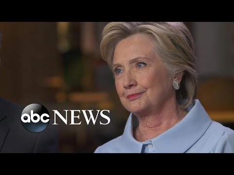 Hillary Clinton, Tim Kaine Full Interview: Trump's Health Claims 'Idiotic'