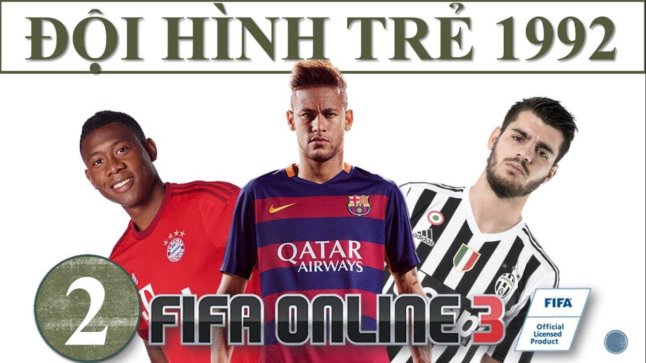 Ấn tượng với đối hình cầu thủ trẻ triển vọng trong FIFA Online 3 cực ngầu