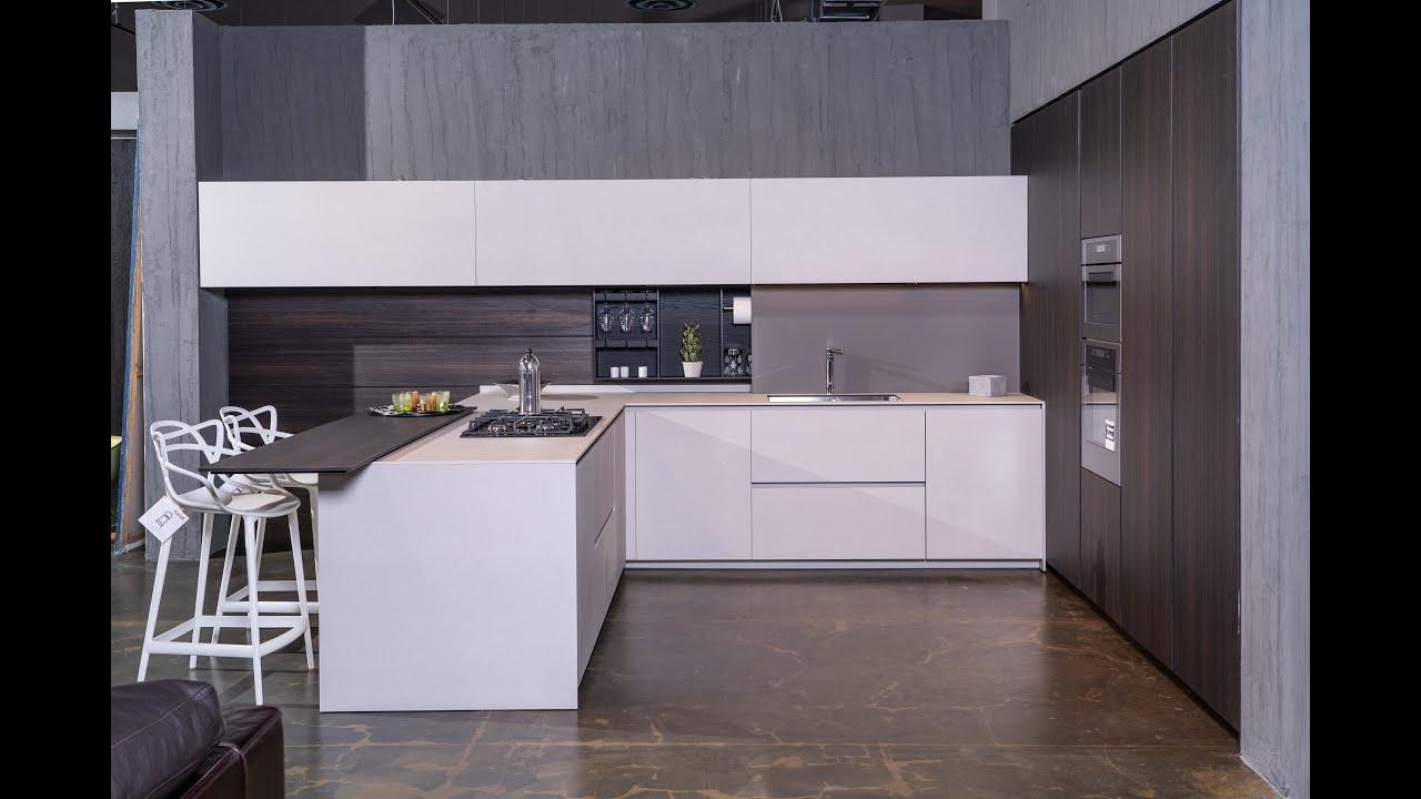 Cucina Open Space Cucine progetto 3 - YouTube