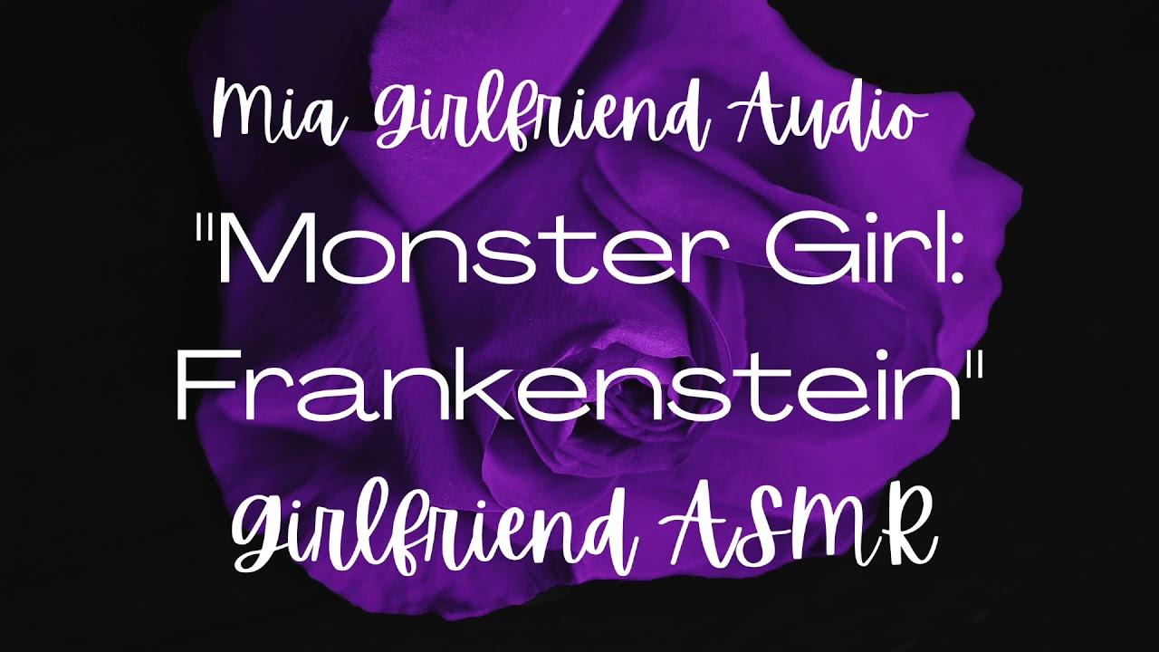 Frankenstein Girl - Girlfriend ASMR Audio [F4M] [Monster Girl] [Halloween] [Crying] [Your Creation]