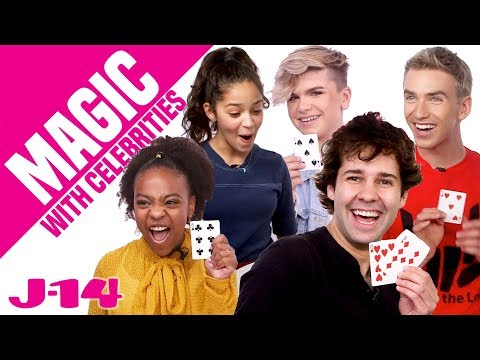 David Dobrik, Stephen Sharer, and More React to Magic | Magic With Celebrities
