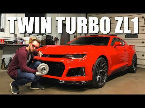 Putting Twin Turbos On My 2017 Camaro ZL1!!!