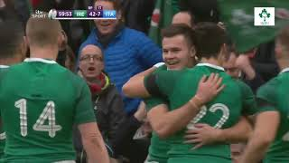 Irish Rugby TV: Ireland v Italy 2018 NatWest 6 Nations Highlights