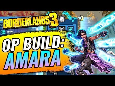 Borderlands 3 AMARA Build! BEST Amara Build/Skill Tree Class (INSANE Elemental Damage)