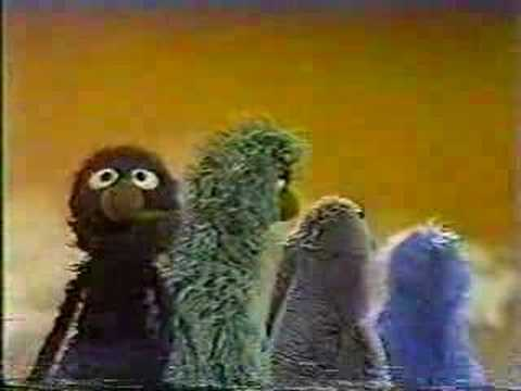 Classic Sesame Street - Grover demonstrates FIRST and LAST