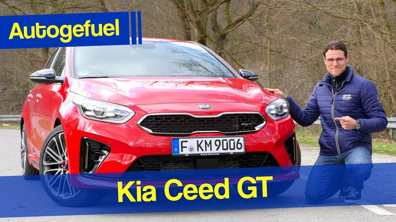2020 Kia Ceed Gt Review Ceed Cd Autogefuel Youtube