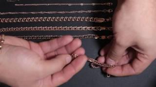 Видео обзор позолоченных мужских и женских браслетов