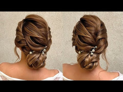 Wedding Hair Style Video Tutorial! Coafură pentru mireasă! Свадебный Пучок! #hairstyle - YouTube