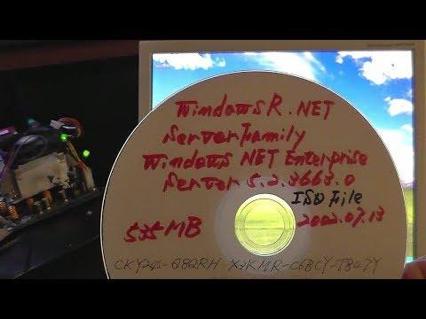 Test Installation Of The Windows NET Server 5.2.3663.0