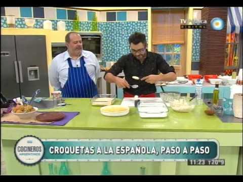 Croquetas a la española - YouTube  Croquetas a la ...