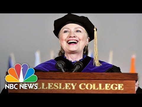 Hillary Clinton Gives Commencement Speech At Wellesley College (Full) | NBC News