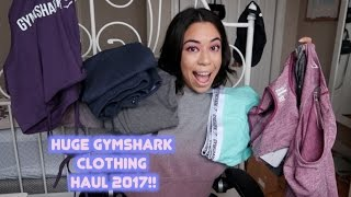 HUGE NEW GYMSHARK PURCHASE 2017!!   TRY ON & REVIEW