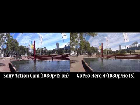 Sony Action Cam X1000V image stabilization test